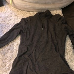 lululemon quarter zip with front pocket
